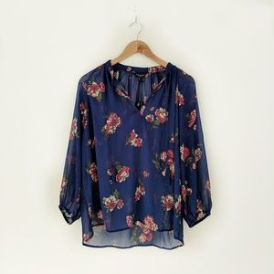 Lucky Brand • Floral Blouse